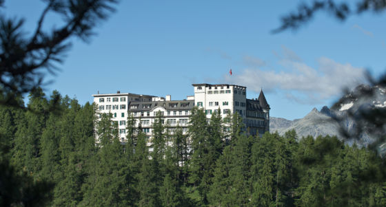 Outside view Hotel Waldhaus Sils
