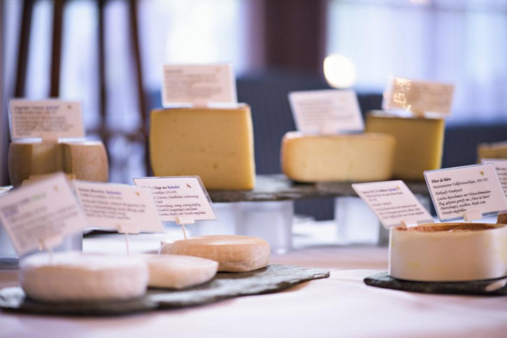 Cheese buffet Hotel Waldhaus Sils
