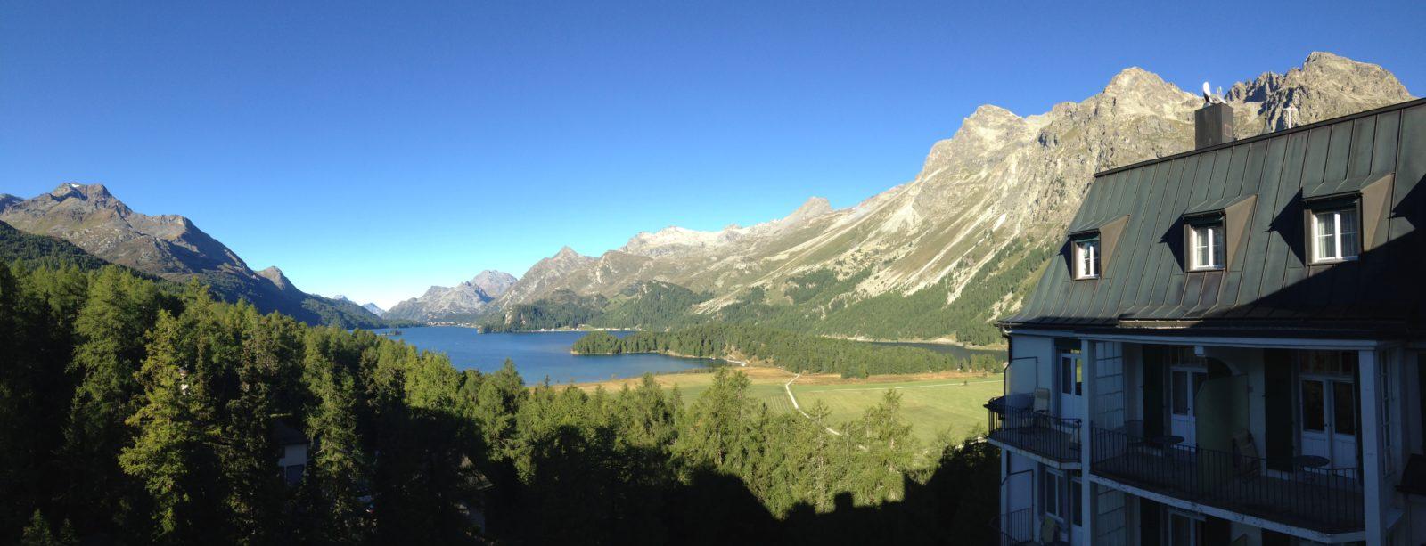 View towards Maloja