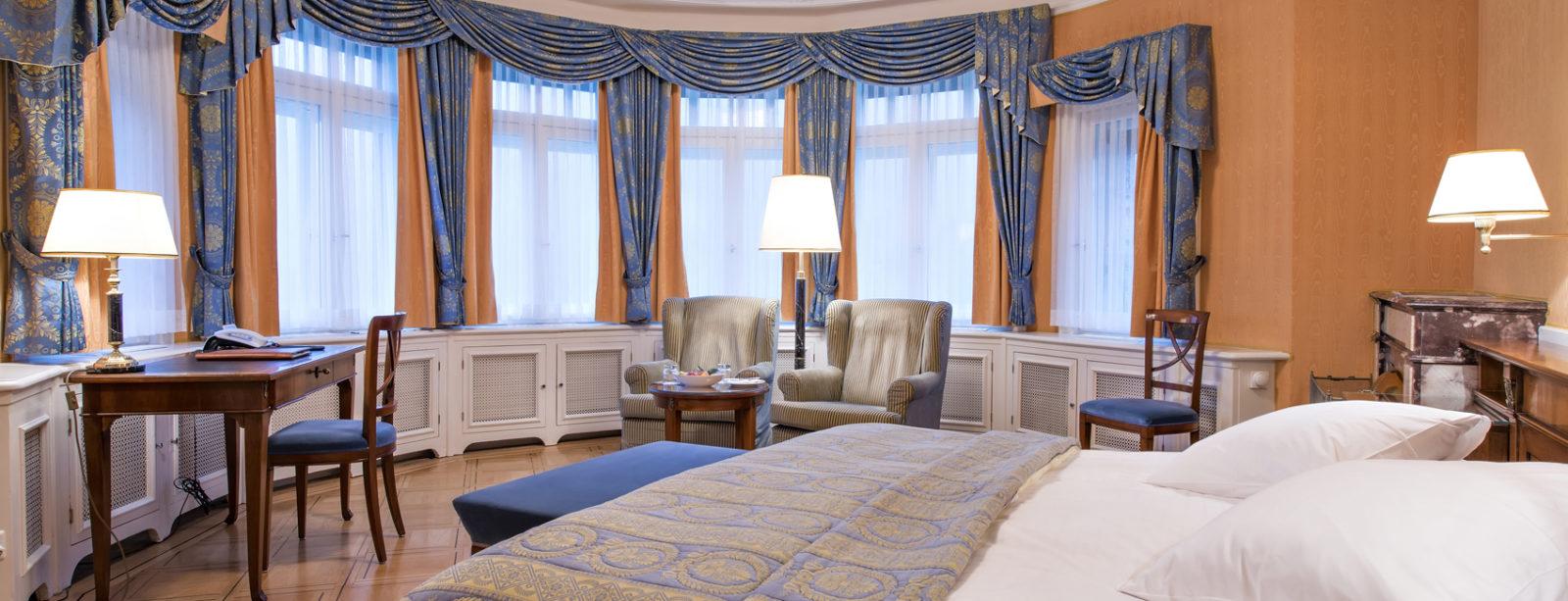 Chambres hotel waldhaus sils maria for Modernes waldhaus