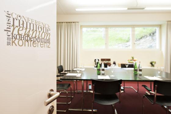 Seminarraum im Hotel Waldhaus Sils