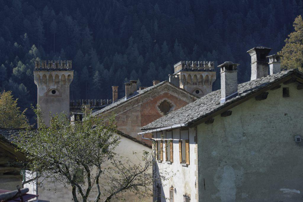 Schloss Castelmur Bergell