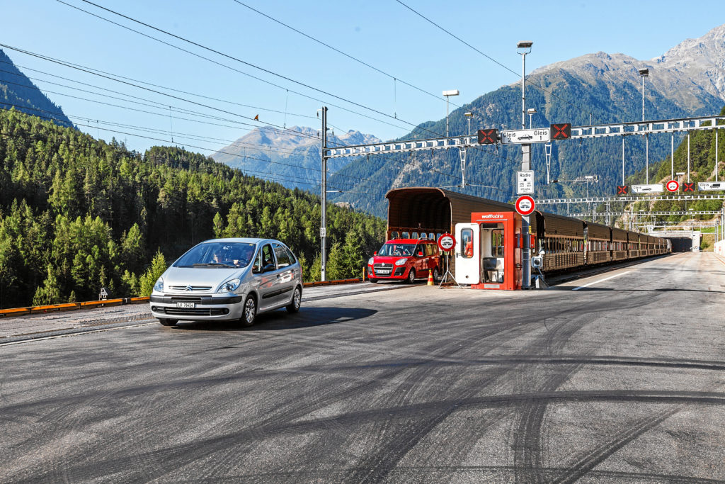 Rhaetische Bahn: Autoverlad Vereina