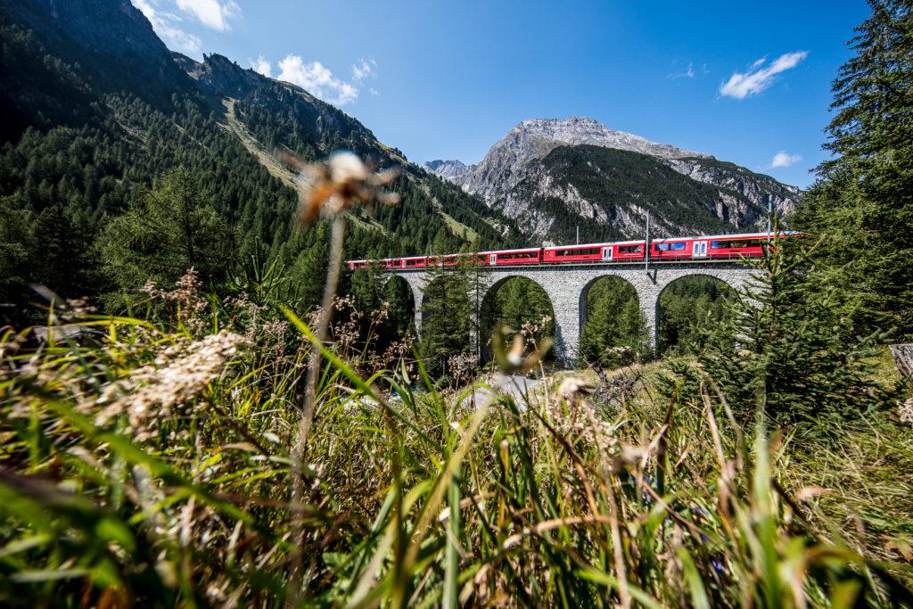 Rhaetische Bahn (RhB): Albulaviadukt