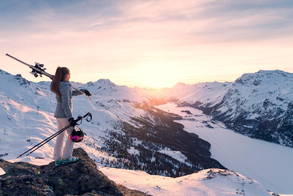 Skigebiet Corvatsch