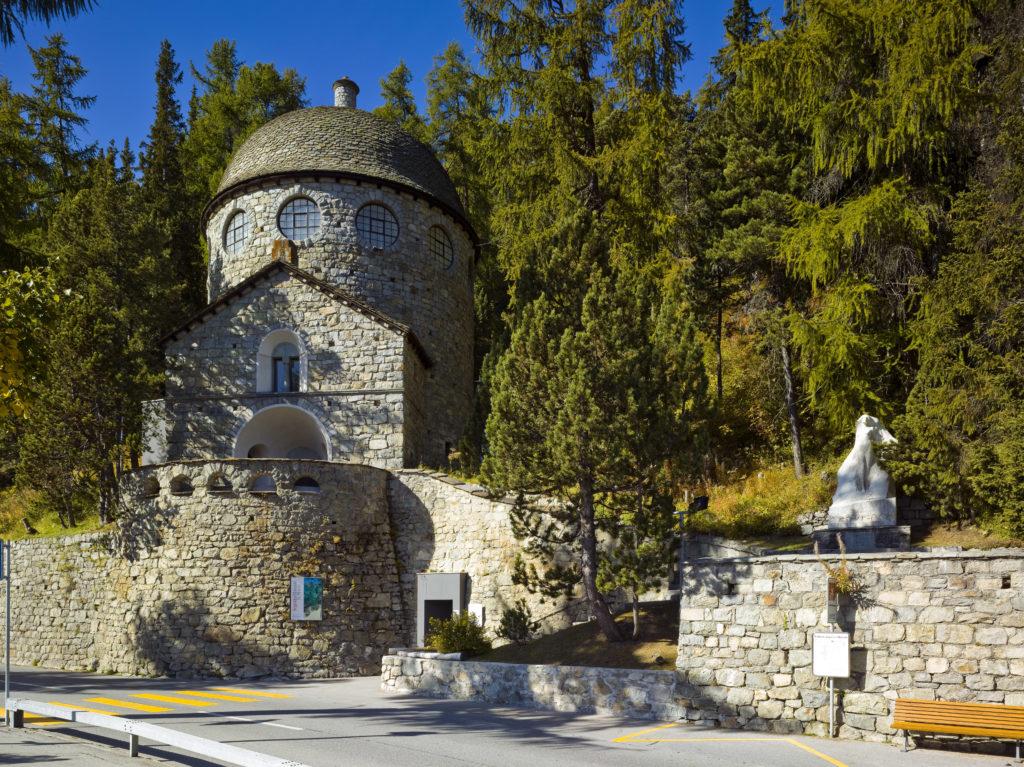 The Segantini Museum in St. Moritz.