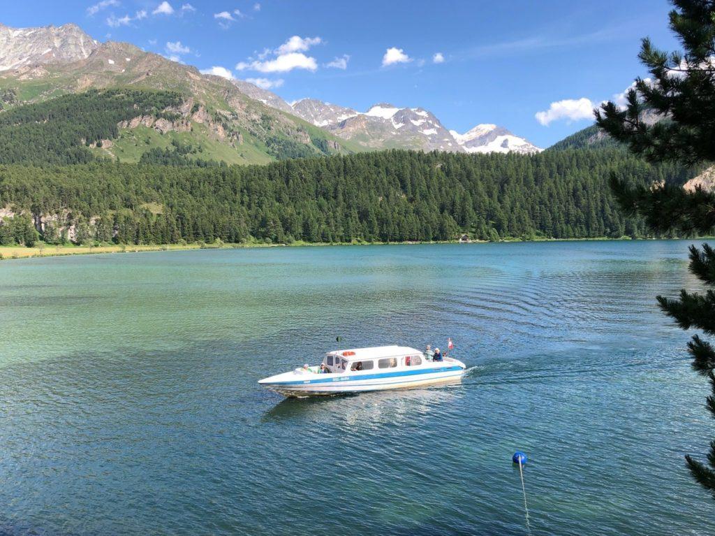 Schifffahrt auf dem Silsersee