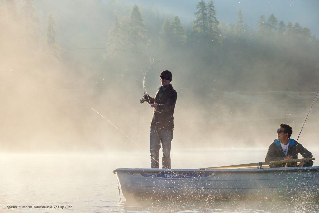 Engadin St. Moritz - la pêche
