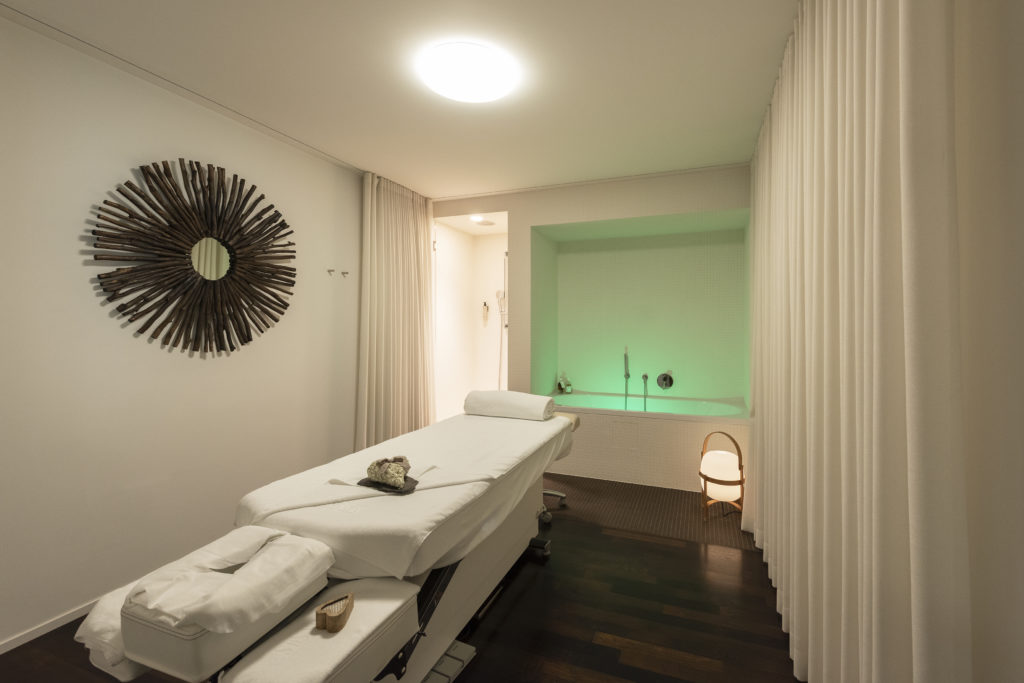Treatment room in the Hotel Waldhaus Sils
