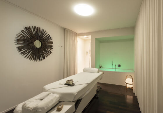 Behandlungsraum im Hotel Waldhaus Sils