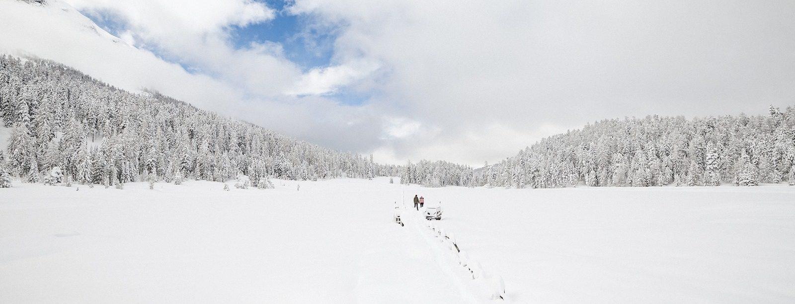 Winterwandern im Stazerwald