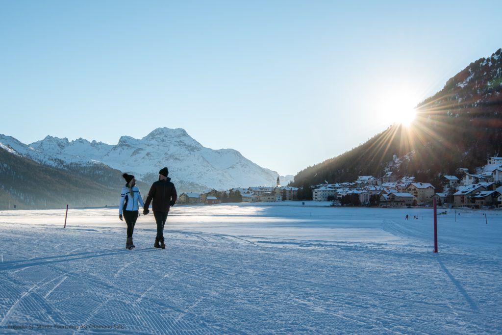 Winterwandern Engadin