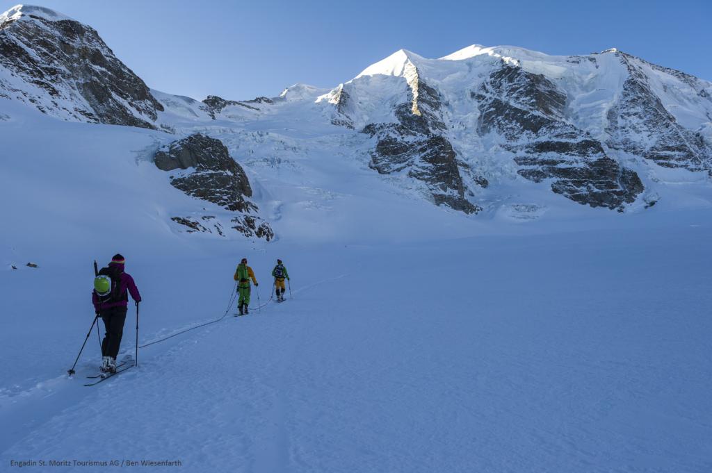 Skitour auf den Piz Palü