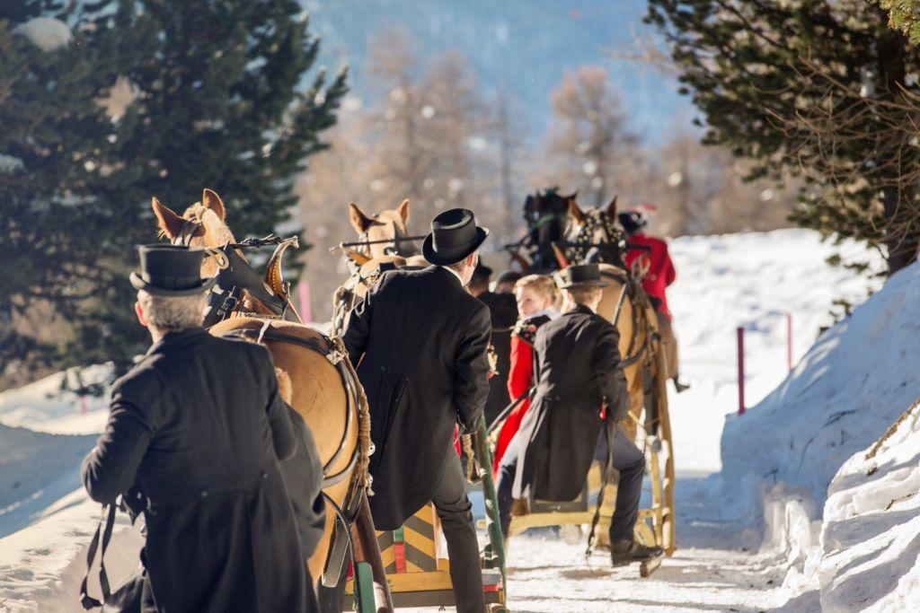 Engadin St. Moritz - Schlitteda