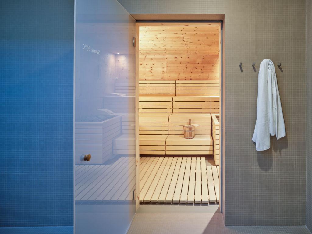 Waldhaus Sils - Sauna