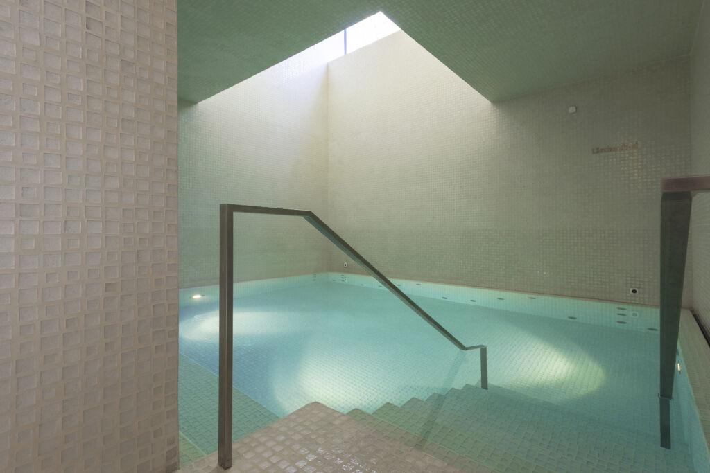 Le bain «Mélèze» dans l'hôtel Waldhaus Sils