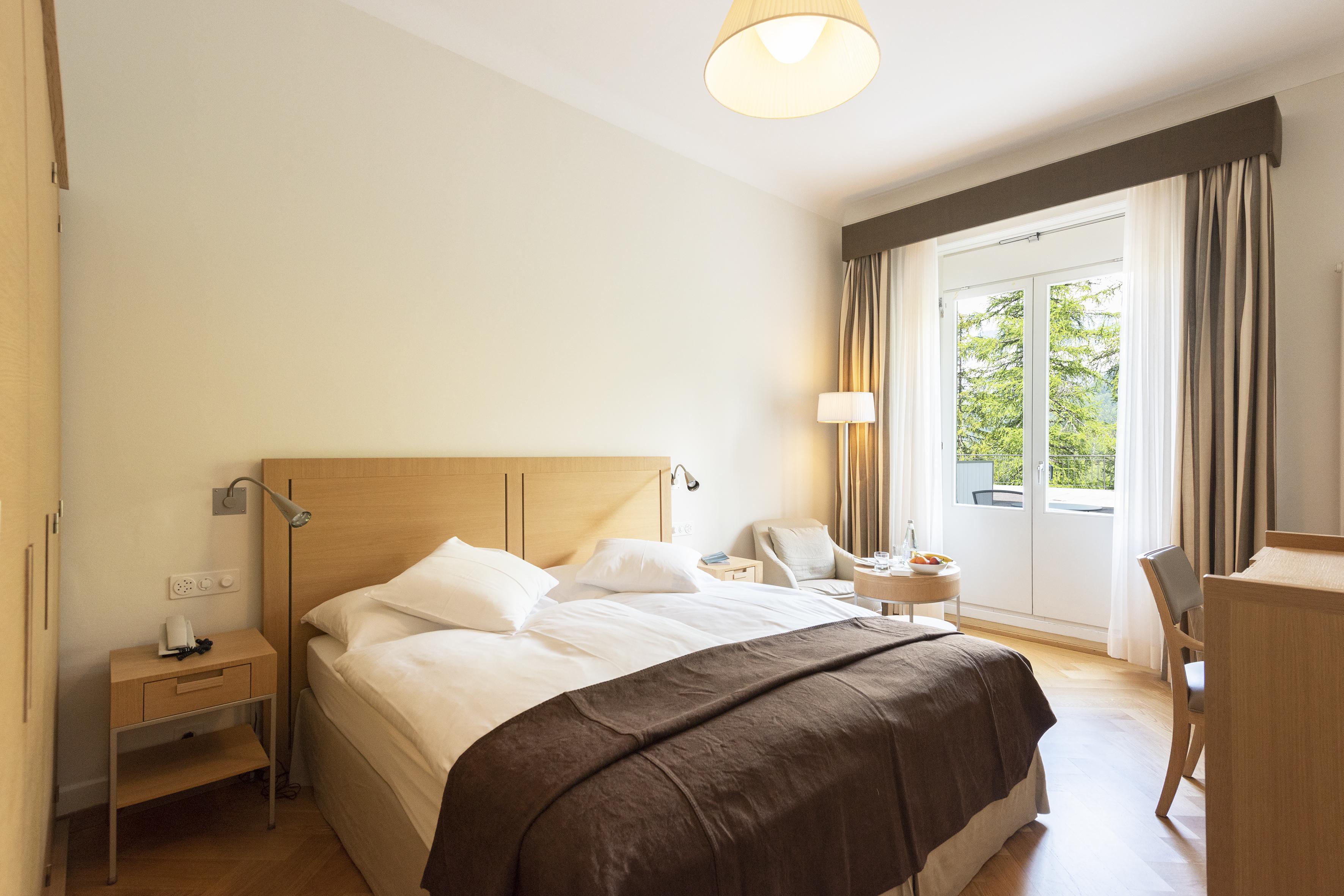 Doppelzimmer - Hotel Waldhaus Sils
