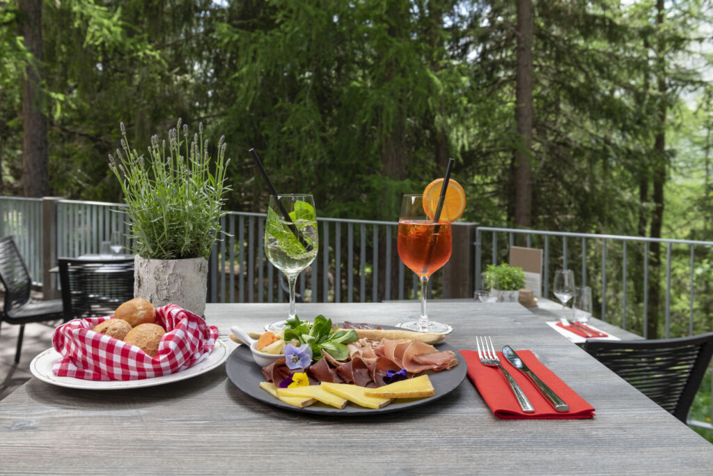 Restaurant Gigers at the Hotel Waldhaus Sils